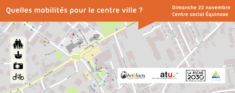 Cartopartie La Riche Centre ville 22/11/2015