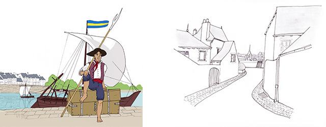Intéressée par le patrimoine local et sa valorisation, je travaille directement avec les habitants d'un territoire. Par diverses activités pédagogiques, je souhaite les sensibiliser à leur environnement et les amener […]