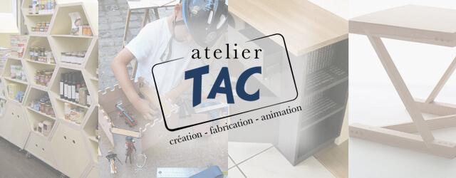 À l'Atelier TAC, nous concevons et fabriquons du mobilier et aménagements sur mesure pour particuliers et professionnels. Passionnés par la diversité, des usages, des matériaux et des techniques, l'Atelier TAC […]